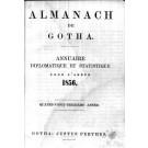 ALMANACH DE GOTHA, 1856. ANNUAIRE GÉNÉALOGIQUE, DIPLOMATIQUE ET STATISTIQUE