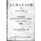 ALMANACH DE GOTHA, 1858. ANNUAIRE GÉNÉALOGIQUE, DIPLOMATIQUE ET STATISTIQUE