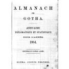 ALMANACH DE GOTHA, 1864. ANNUAIRE GÉNÉALOGIQUE, DIPLOMATIQUE ET STATISTIQUE