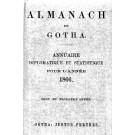 ALMANACH DE GOTHA, 1866. ANNUAIRE GÉNÉALOGIQUE, DIPLOMATIQUE ET STATISTIQUE