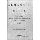 ALMANACH DE GOTHA, 1868. ANNUAIRE GÉNÉALOGIQUE, DIPLOMATIQUE ET STATISTIQUE