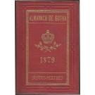 ALMANACH DE GOTHA, 1879. ANNUAIRE GÉNÉALOGIQUE, DIPLOMATIQUE ET STATISTIQUE