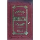 ANNUARIO DELLA NOBILTÀ ITALIANA 1894 (ANNO XVI)