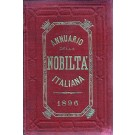 ANNUARIO DELLA NOBILTÀ ITALIANA 1896 (ANNO XVIII)
