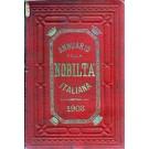 ANNUARIO DELLA NOBILTÀ ITALIANA 1903 (ANNO XXV)