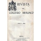 RIVISTA DEL COLLEGIO ARALDICO (RIVISTA ARALDICA), ANNO I, 1903