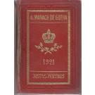 ALMANACH DE GOTHA, 1921. ANNUAIRE GÉNÉALOGIQUE, DIPLOMATIQUE ET STATISTIQUE