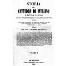 STORIA DELLA CATTEDRA DI AVELLINO E DE' SUOI PASTORI - 2 Volumi