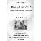Compendio della storia civile ecclesiastica e letteraria della città d'Imola