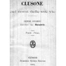Clusone nei nomi delle sue vie: cenni storici raccolti da Baradello